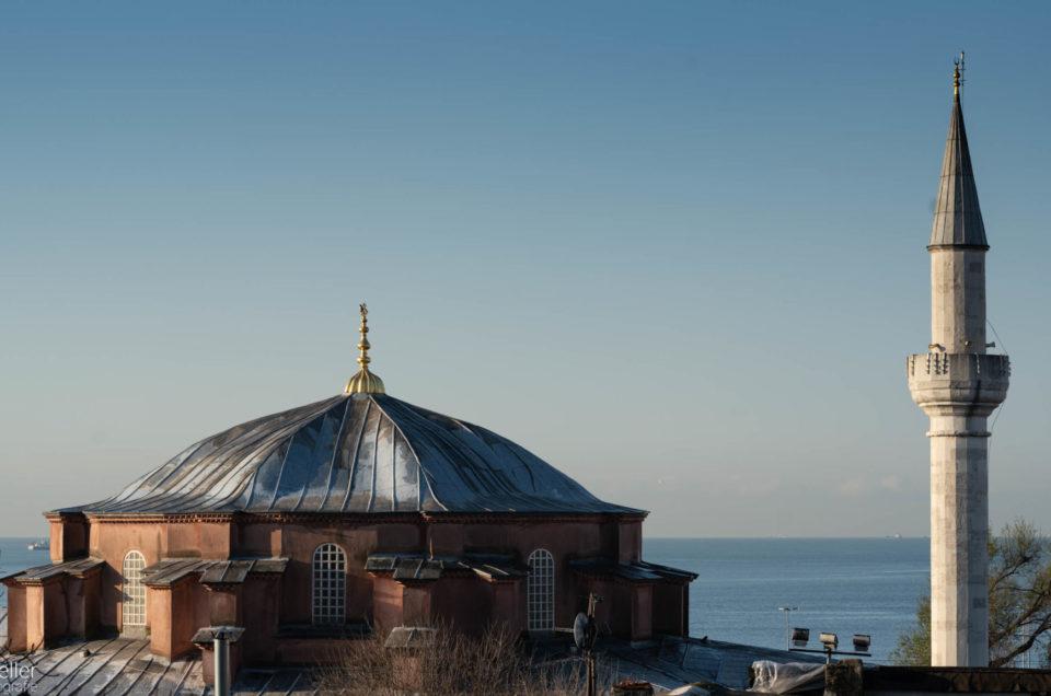 Istanbul - Moschee und Meer