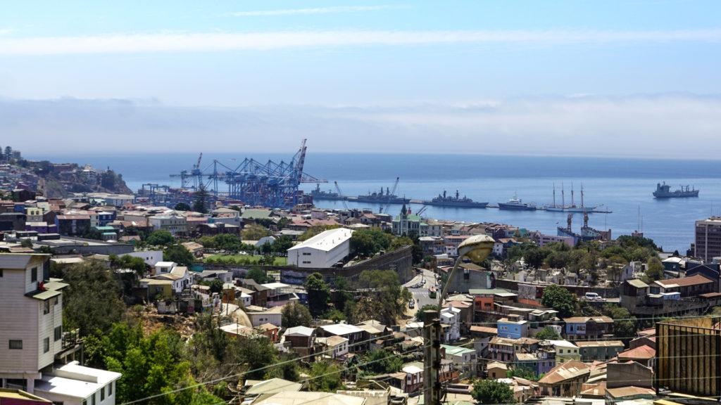 Hafen von Valparaiso Chile