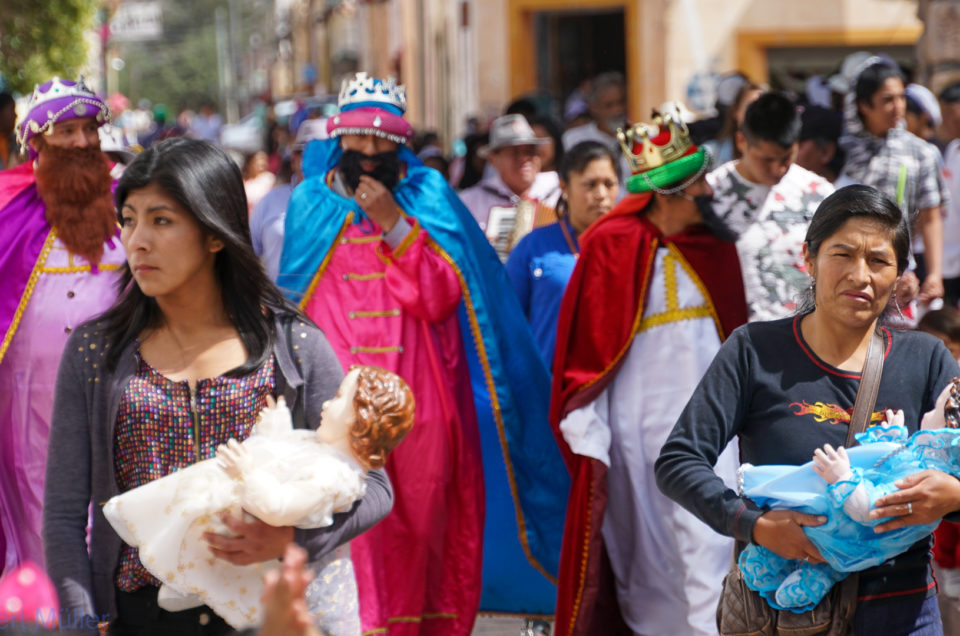 Fest der Heiligen Drei Könige in Humanaca
